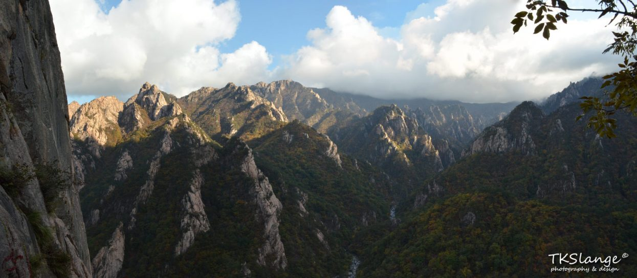 The amazing view from Geumganggul.