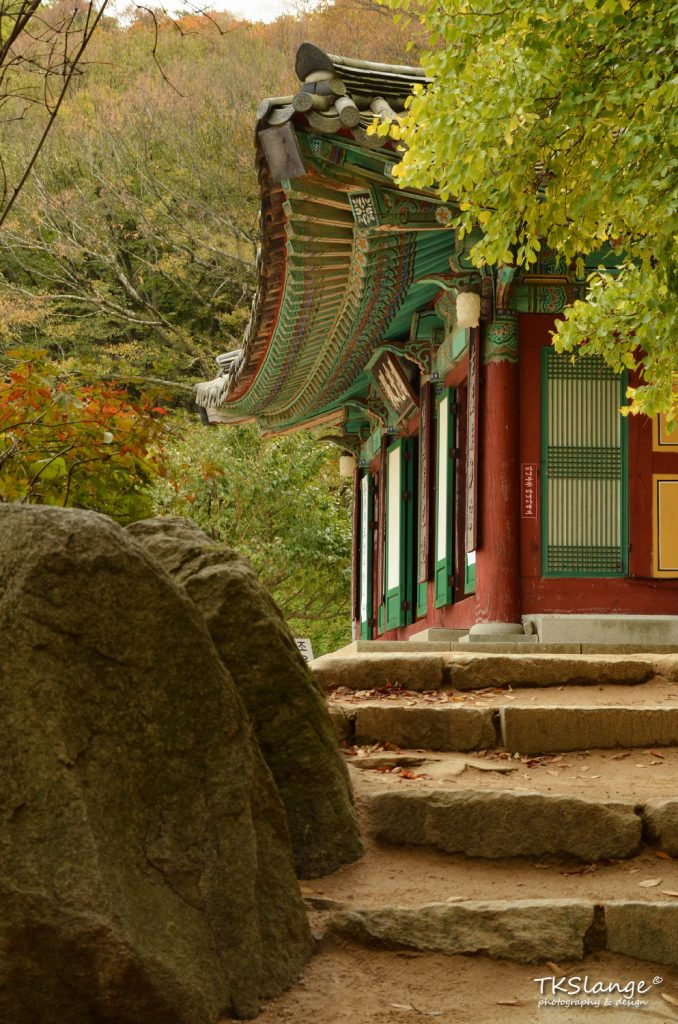 Outside the Seokguram Grotto.