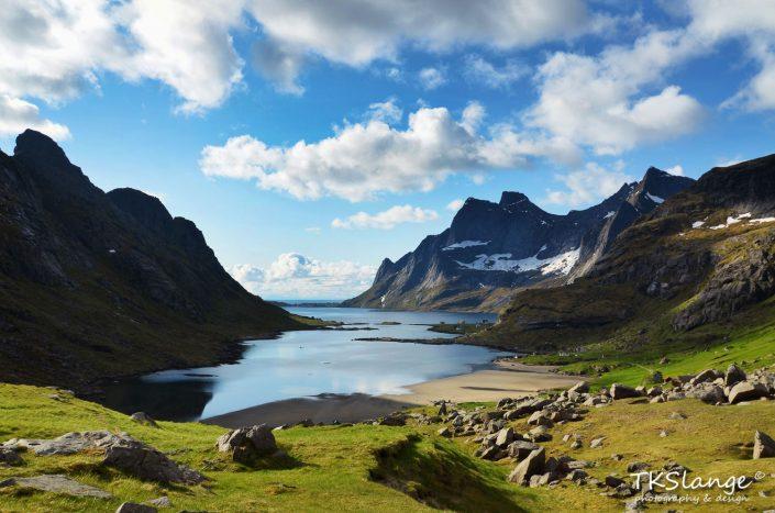 Vindstad en Reinefjorden, Lofoten
