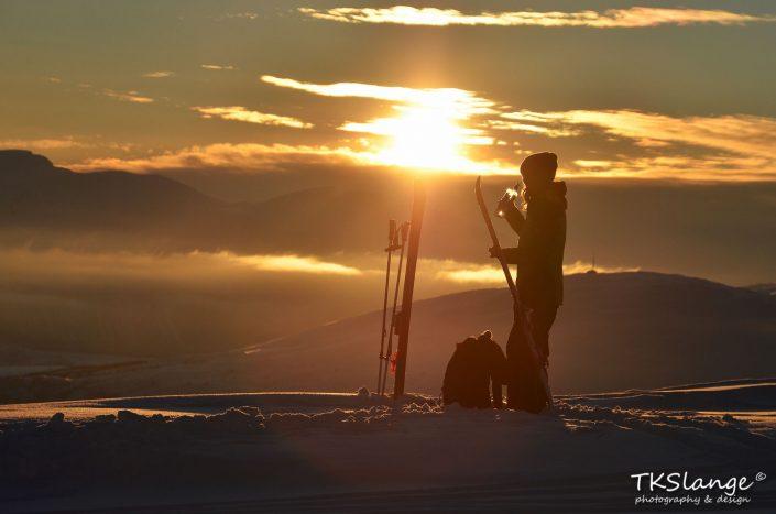 Refreshing skiing